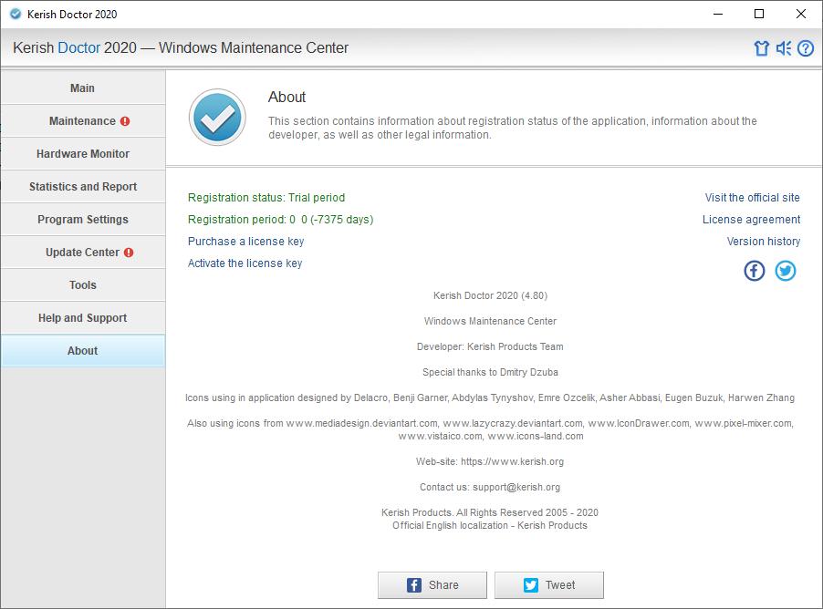 Kerish Doctor 2020 v4.80 Keygen Free Download