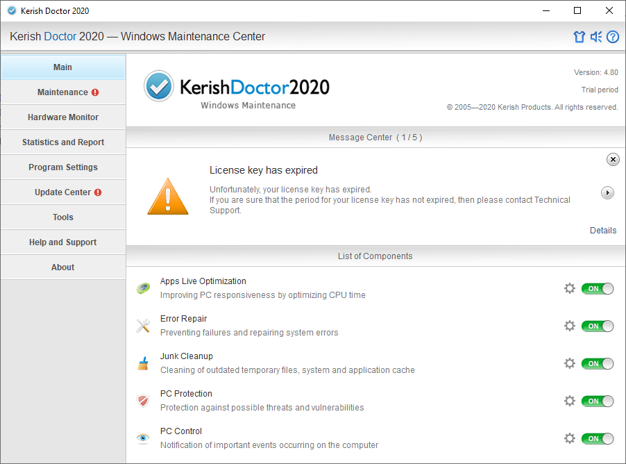 Kerish Doctor 2020 v4.80 Patch Free Download