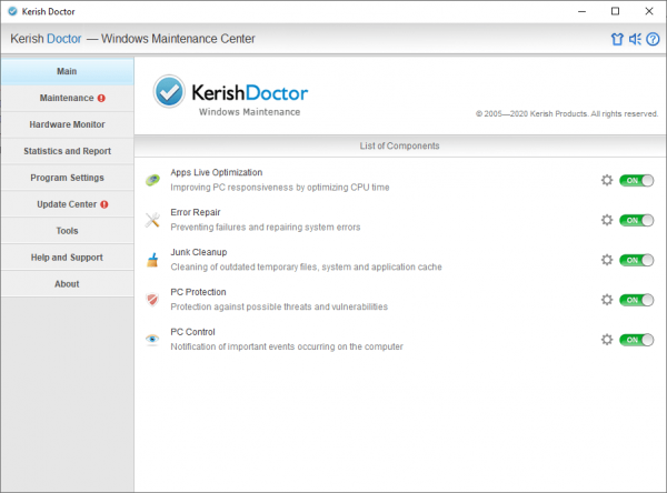 Kerish Doctor Full License Key & Patch {Tested} Free Download