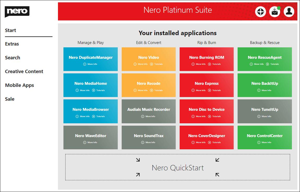 Nero Platinum 2020 Suite v22.0.02400 License Key Free Download