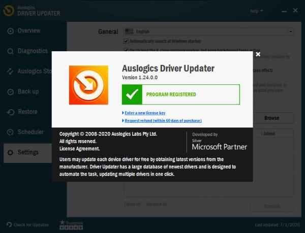 Auslogics Driver Updater 1.24.0 Crack & License Key Free Download