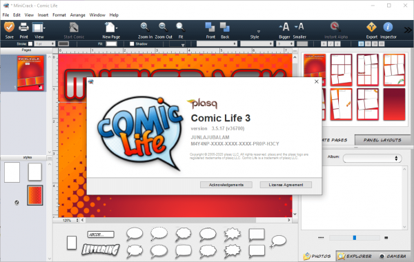 Comic Life 3.5.17 (v36700) Patch & Serial Key {2020} Free Download