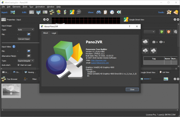 Pano2VR Pro 6.1.8 Crack & License Key {2020} Free Download