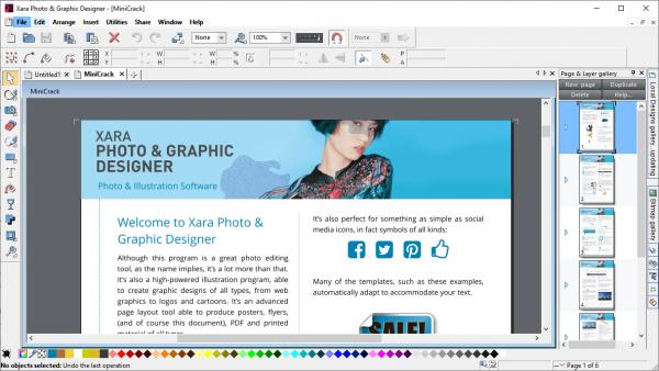 Xara Photo & Graphic Designer Full License Key & Crack Free Download