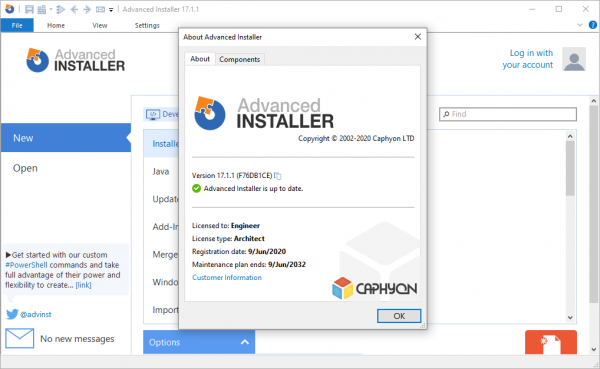 Advanced Installer Architect 17.1.1 Patch & Serial Key {2020} Free Download