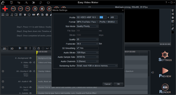 Easy Video Maker Platinum 8.69 License Key {2020} Free Download