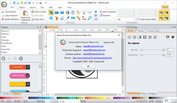 EximiousSoft Banner Maker Pro 3.63 Crack & License Key {2020} Download