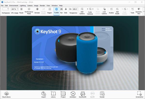 Luxion KeyShot Pro 9.3.14 Crack & License Key {2020} Free Download
