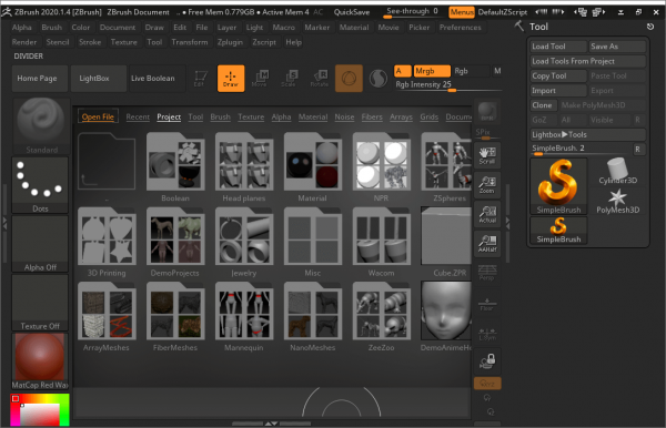 Pixologic ZBrush 2020.1.4 Patch {Tested} Full Download