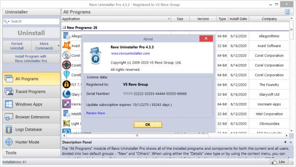 Revo Uninstaller Pro 4.3.3 Patch & License Key {2020} Free Download