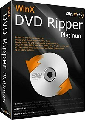 WinX DVD Ripper Platinum Patch {Updated} Free Download