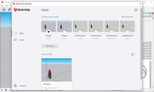 SketchUp Pro 2020 v20.1.235 Seral Key Free Download