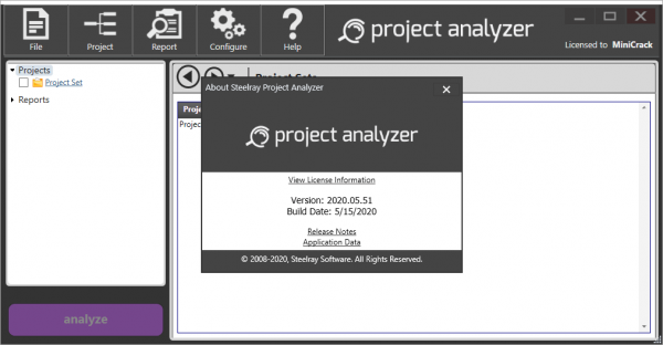 Steelray Project Analyzer 2020.05.51 Crack & License Key {2020} Download