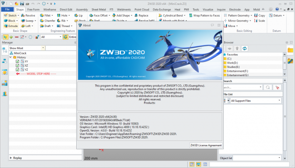ZW3D 2020 v24.00 Patch & Serial Key {Latest} Free Download