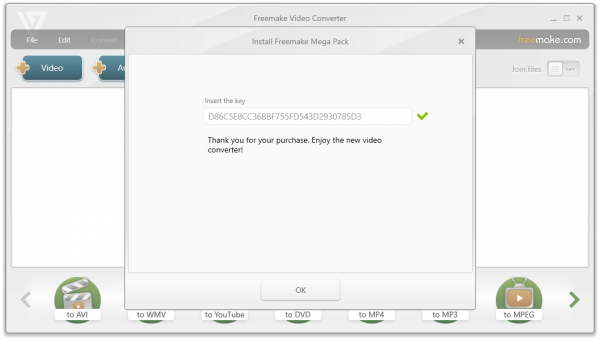 Freemake Video Converter 4.1.11.40 License Key {2020} Free Download