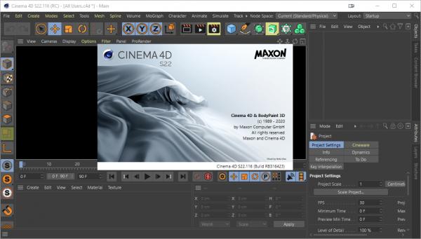Maxon CINEMA 4D Studio S22.116 Patch & Keygen {2020} Free Download