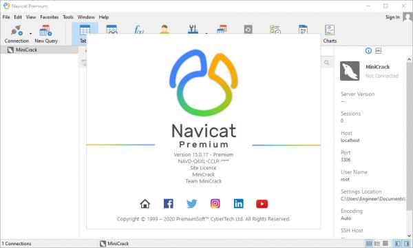 Navicat Premium 15.0.17 Crack & Keygen {2020} Free Download