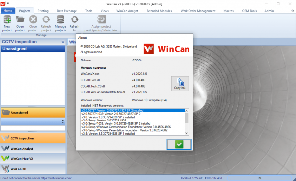 WinCan VX 1.2020.8.5 Crack & License Key {Latest} Free Download