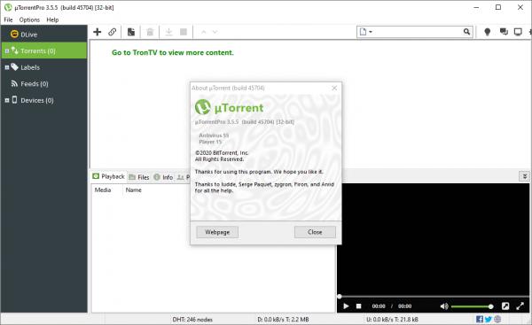 uTorrent Pro 3.5.5 Build 45704 Crack & Serial Key {2020} Free Download
