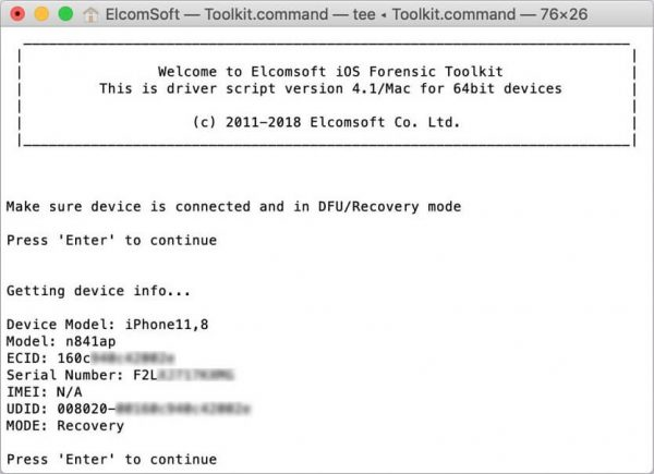 ElcomSoft iOS Forensic Toolkit Serial Key & Crack {Latest} Free Download