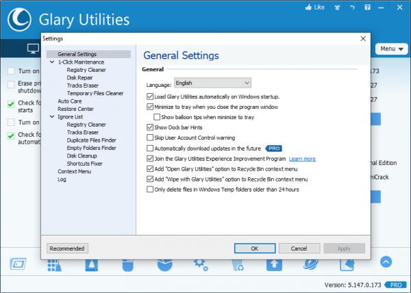 Glary Utilities Pro 5.145.0.173 Keygen {2020} Free Download
