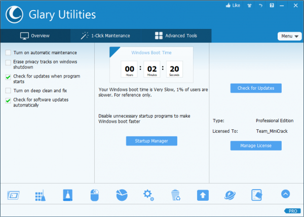 Glary Utilities Pro Full Serial Key & Crack {Tested} Free Download
