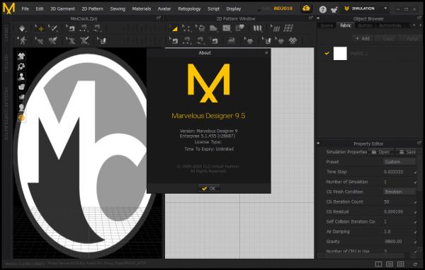 Marvelous Designer 9.5 Enterprise v5.1.455.28687 Crack {2020} Free Download