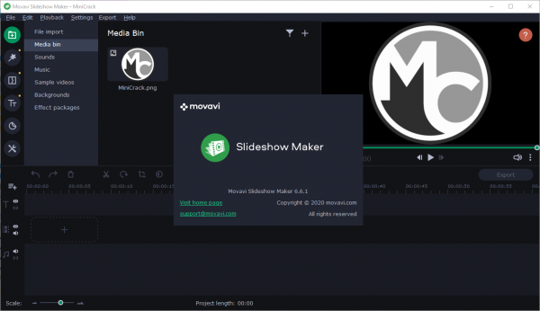 Movavi Slideshow Maker 6.6.1 Patch & Serial Number {2020} Free Download