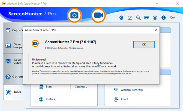 ScreenHunter Pro 7.0.1107 Crack & License Key {2020} Free Download