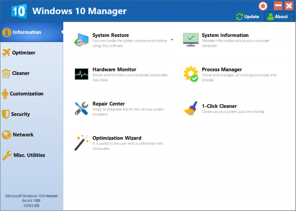 Yamicsoft Windows 10 Manager Full License Key {Tested} Free Download