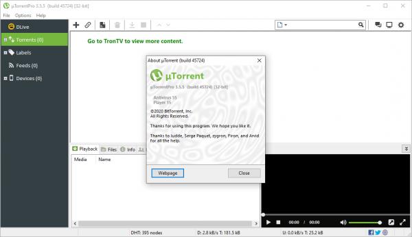 uTorrent Pro 3.5.5 Build 45724 Crack & Serial Key {2020} Free Download
