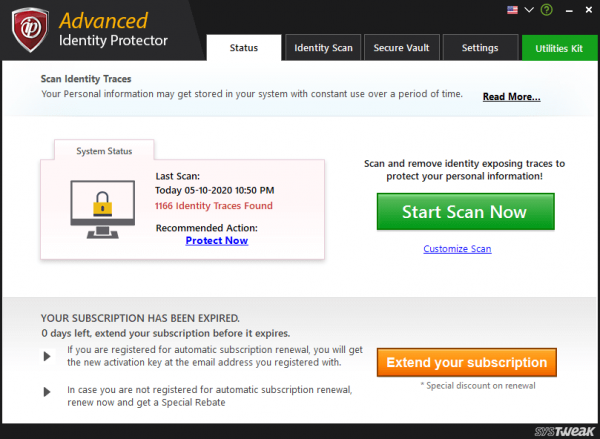 Advanced Identity Protector Full License Key & Patch {Tested} Free Download