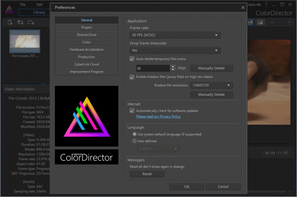 CyberLink ColorDirector Ultra Full Serial Key {Latest} Free Download
