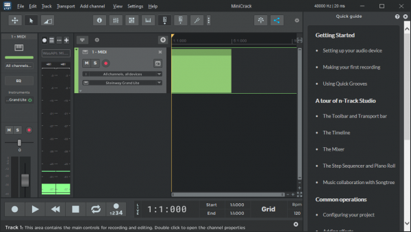 n-Track Studio Suite Full License Key & Patch{Tested} Free Download