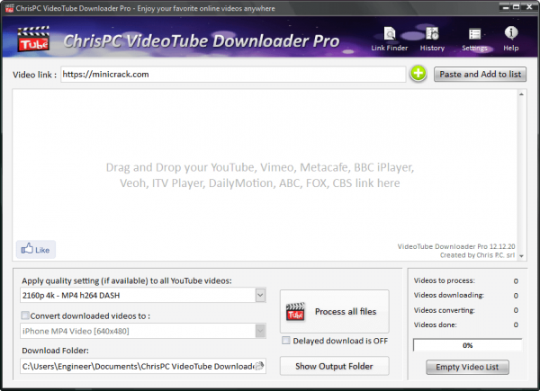 ChrisPC VideoTube Downloader Pro License Key {Tested} Free Download
