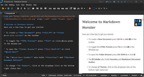 Markdown Monster Patch & Serial Key {Tested} Free Download