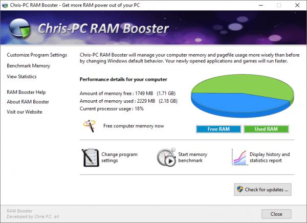 ChrisPC RAM Booster Crack & Keygen {Latest} Free Download